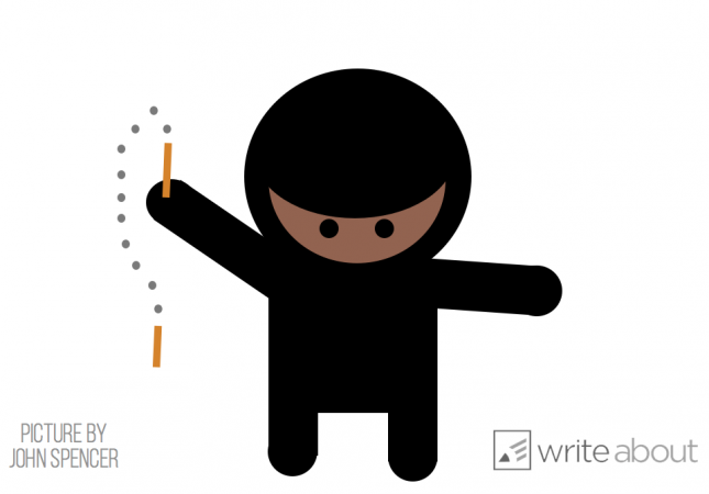 Write step-by-step directions for how to become a ninja.