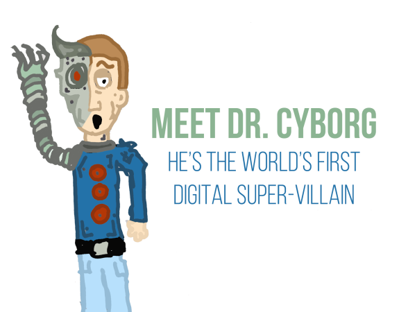 What would happen if a super-villain used social media?