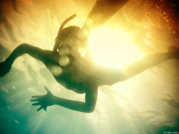 Invent a sport played underwater.
