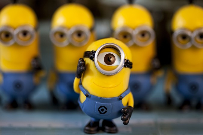 You get a set of minions for a week.