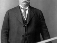 taft with a lightsaber