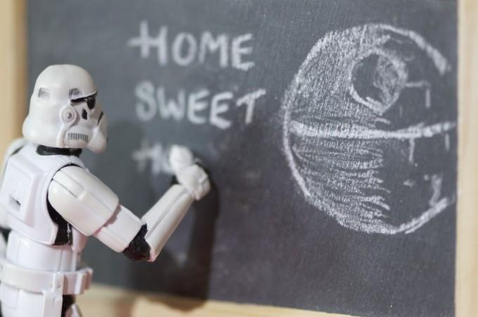 Today, school will take place in a Galaxy Far Far Away.