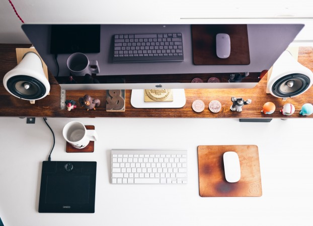 Describe your ideal workspace. Explain how the space helps you get more accomplished.