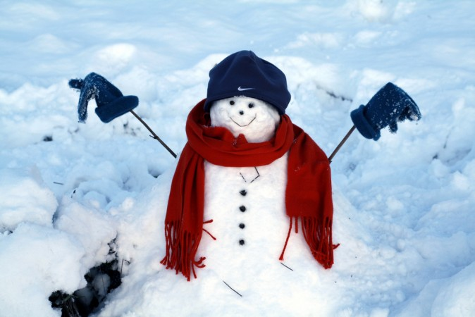 Make a guide for parents explaining ten fun things kids can do during a snow day.