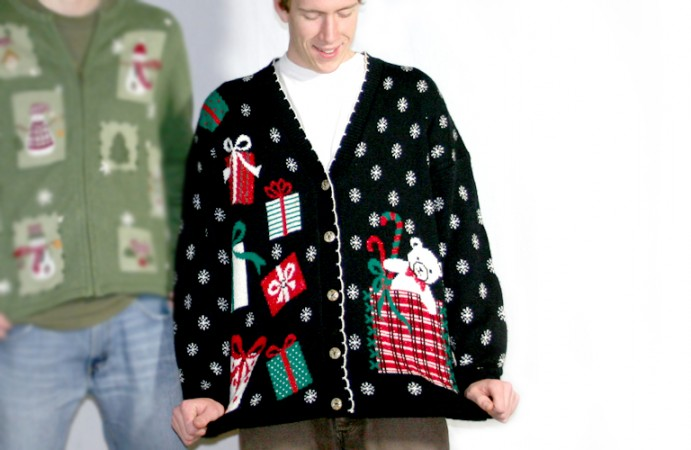 How to win an ugly sweater contest.