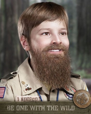 What if one morning you woke up with a beard?