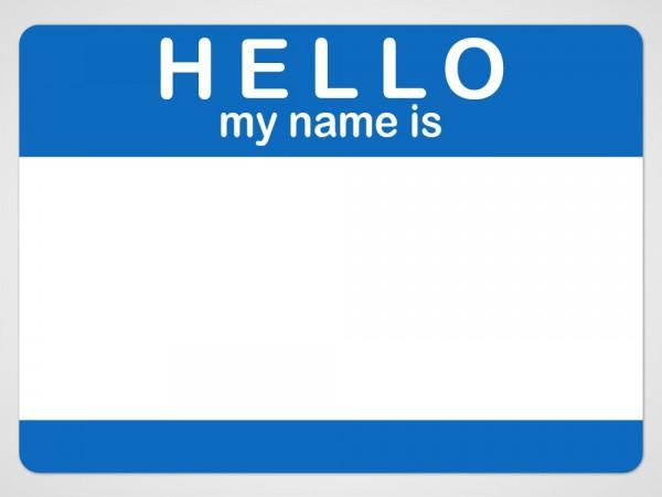 how to write i name
