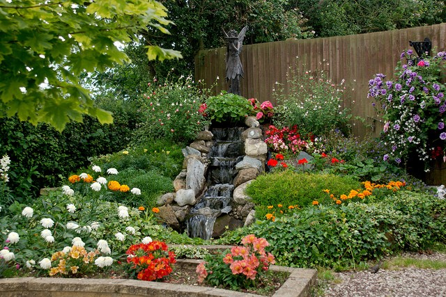 It looked like an ordinary garden…