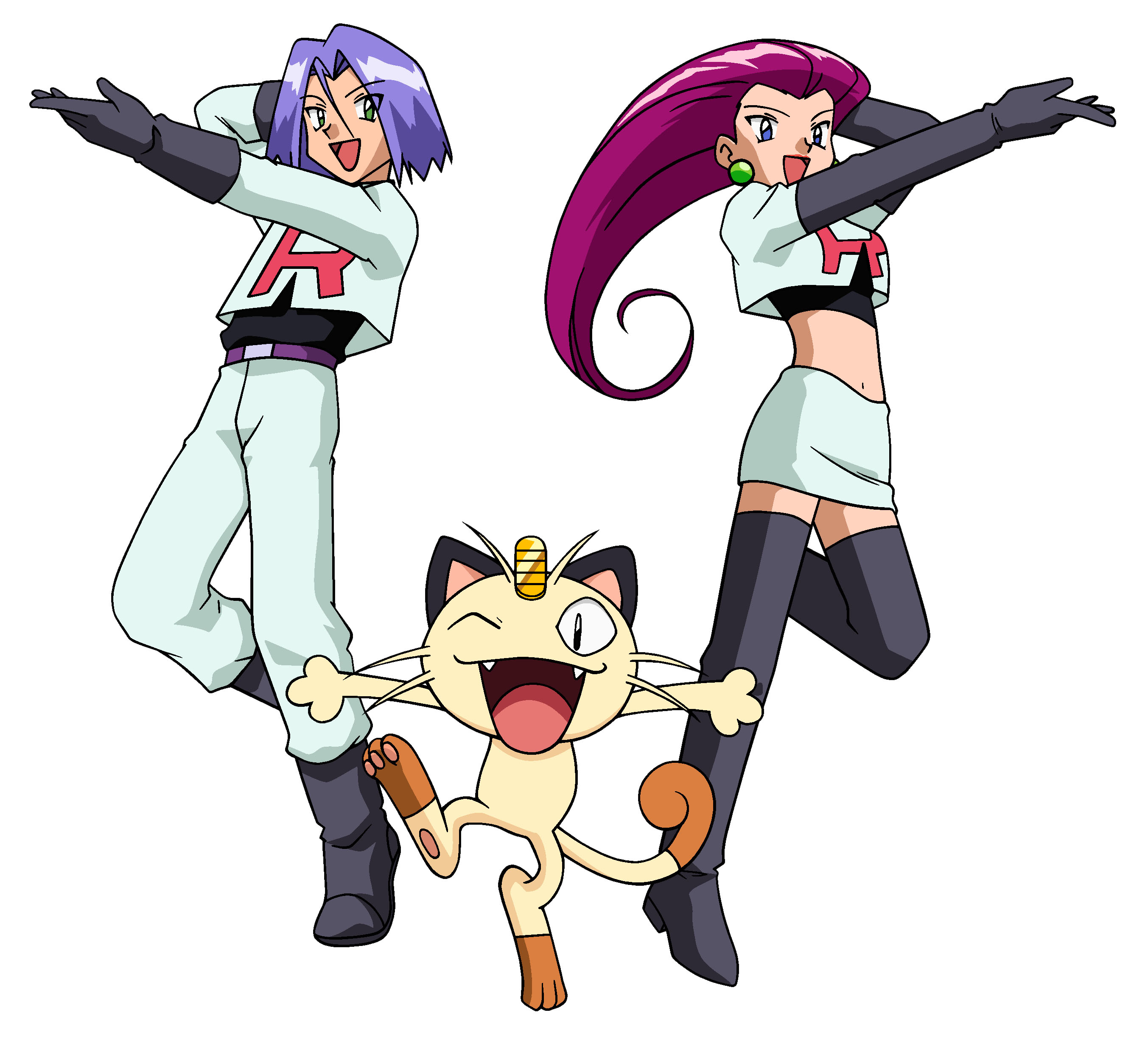 write about is team rocket truly evil or are jesse james just