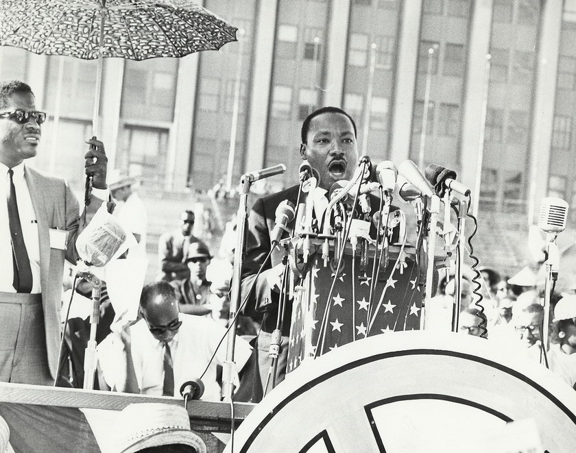 """What kind of change has been made in the world since Martin Luther King made his """"I Have a Dream"""" speech?"""