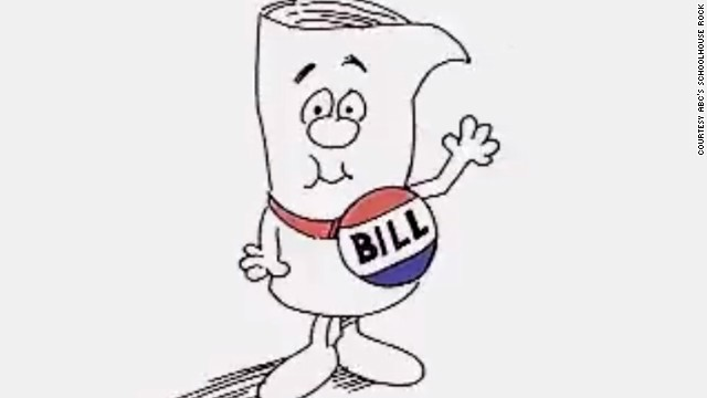 In poem format, explain how a bill becomes a law.