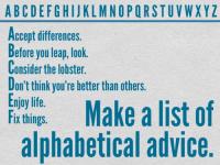 AlphabeticalAdvice