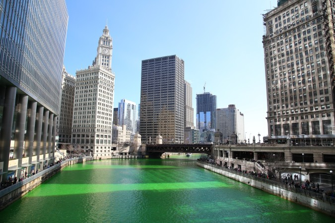 Does your city do anything special to observe St. Patrick's Day?