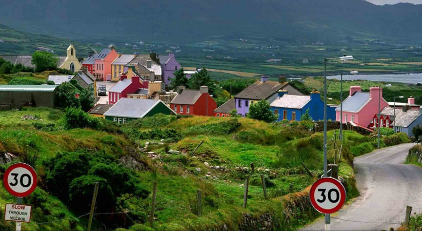 You are going to visit Ireland! Make a list of the top five places you want to visit while you are there.