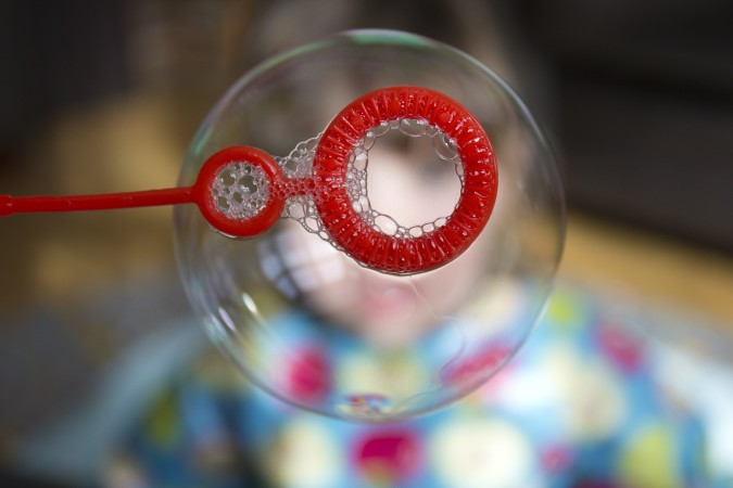 This isn't any ordinary bubble…