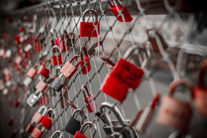 Do you think locks are a good symbol for everlasting love?