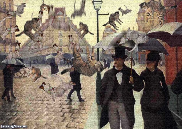 """Many idioms like """"Read the riot act"""" and """"Raining cats and dogs"""" are based on true events. Choose an idiom and create a story for how it came to be. Then, research the idiom and share the historical context in which it was created."""