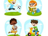 illustrated-kids-playing_23-2147510523
