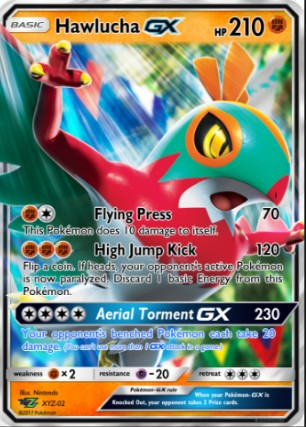 Write About Make Your Own Move For Hawlucha Gx
