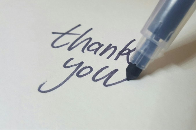 What is the best way to express gratitude?