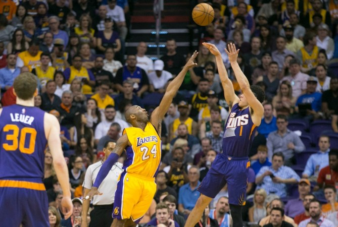 the best attitude af4c4 6476a Write About - Why Devin Booker is the next Kobe Bryant