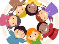 15590722-illustration-of-kids-huddled-together-in-a-cirle-Stock-Illustration
