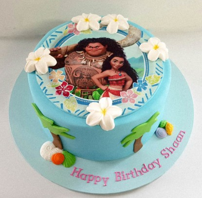 Write About Throw Moana Theme For Your Childs Birthday Party