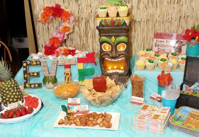 Throw Moana Theme For Your Childs Birthday Party