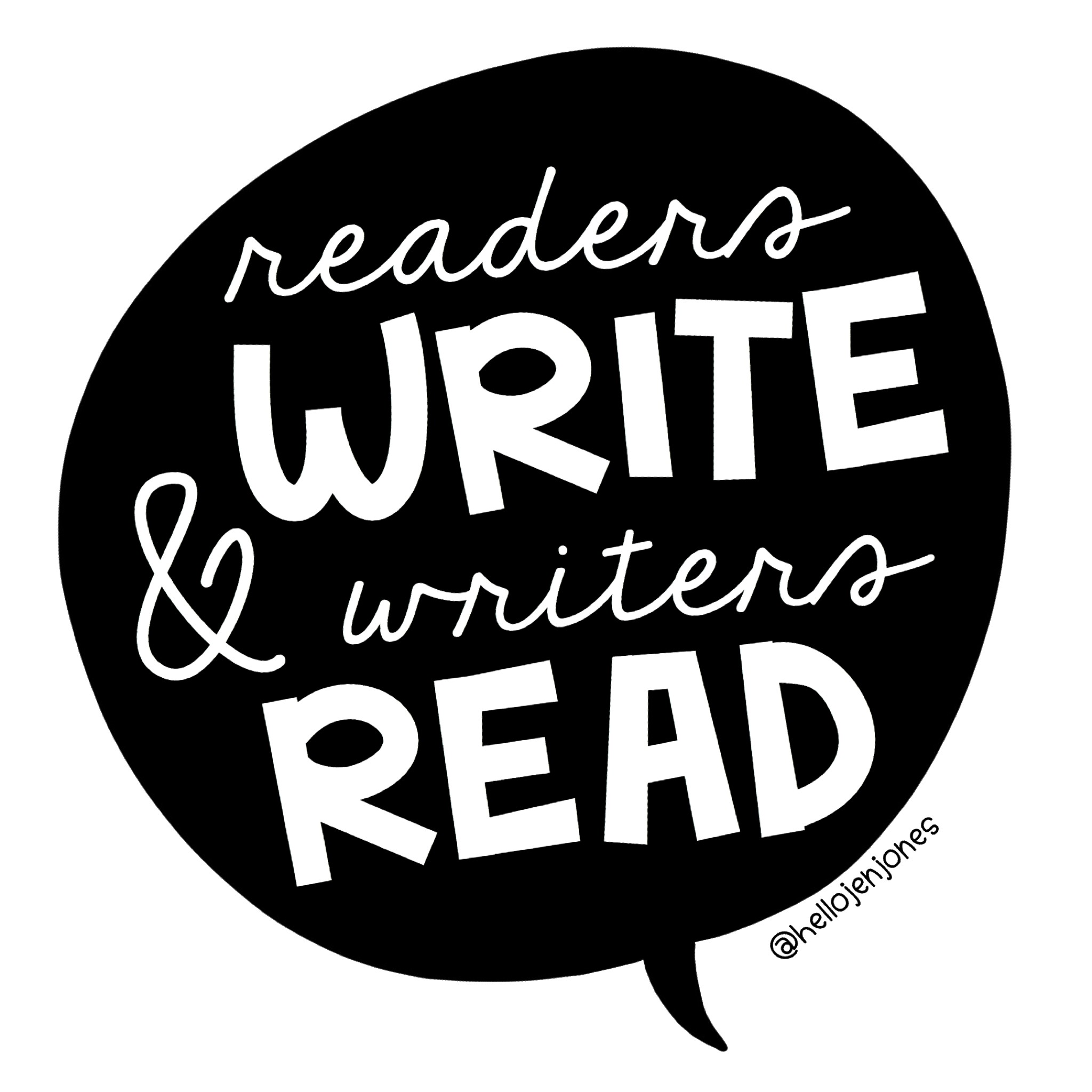 Readers write and writers read. Explain why it's important for learners to make this connection between writing and reading .