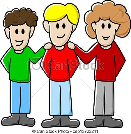 15499990469784358_by_Janet_Demsher_friends-eps-vector_csp13723241