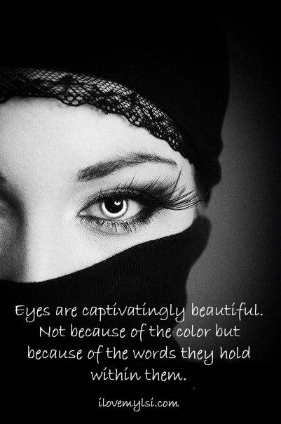 how to describe beautiful eyes