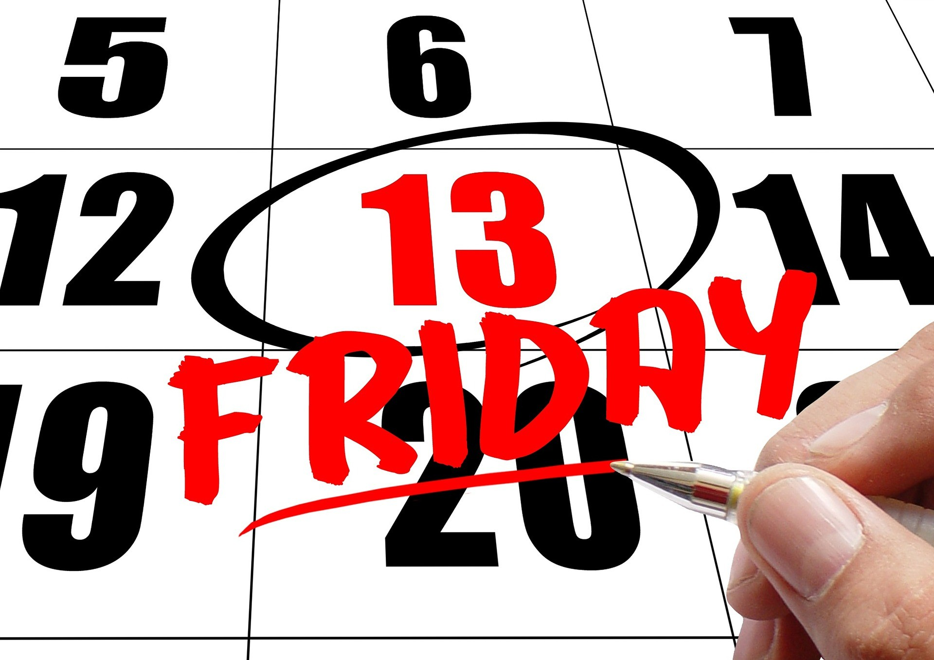 Do you believe Friday the 13th can really bring bad luck? If so, what's your evidence? If not, why not?
