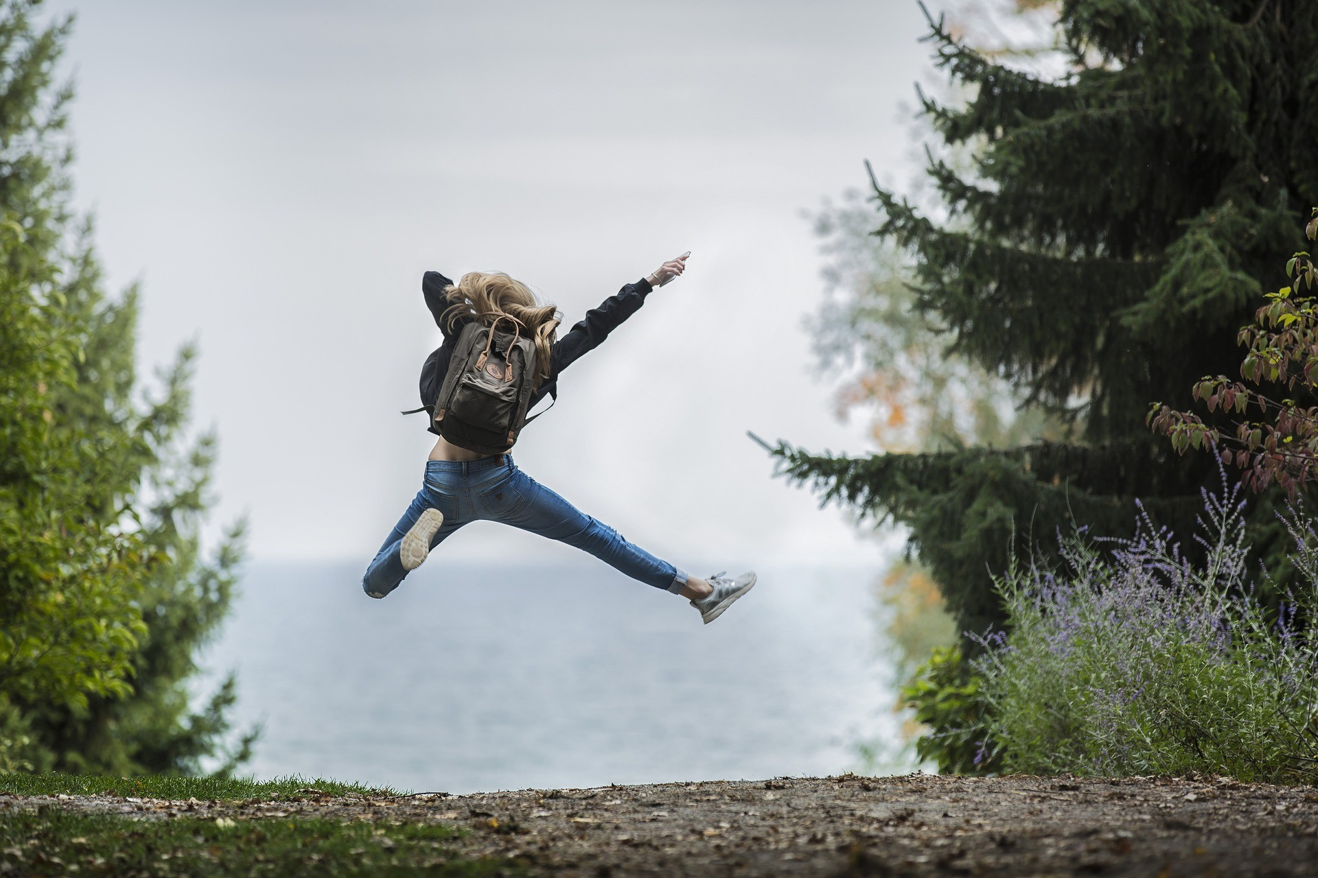 What makes you feel like jumping for joy?