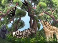 Kids_Church_Mural_-Jungle_Animals_1